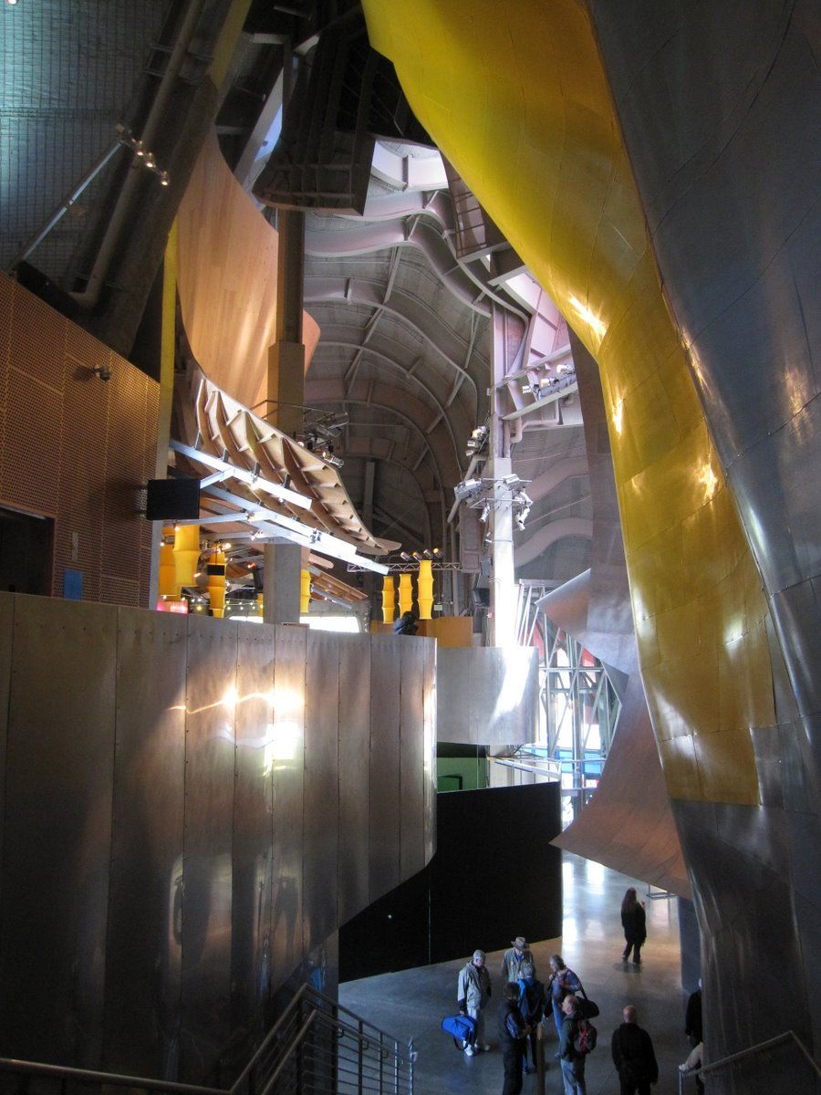 gehry design facebook seattle. Interior Of The Experience Music Project (EMP) In Seattle WA. Frank Gehry, Gehry Design Facebook