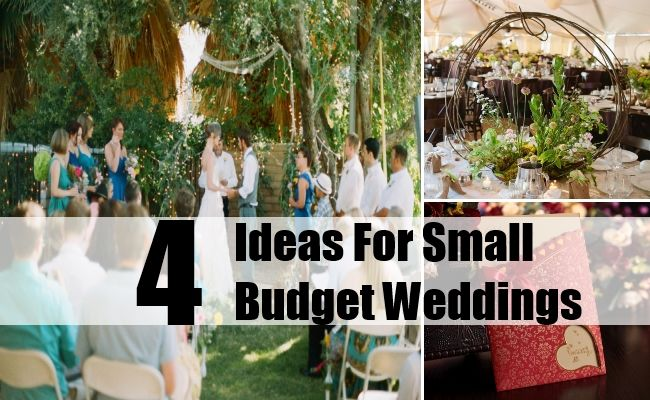 The Smaller Better Small And Intimate Weddings Just Budget
