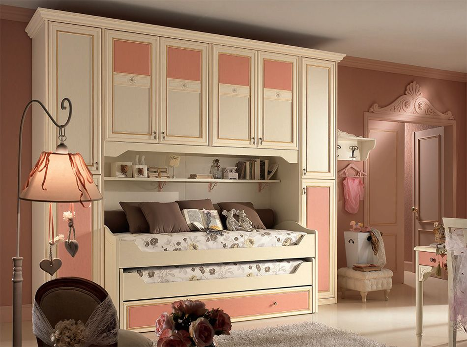 Italian Kids Bedroom Set Diletta G115 by SPAR | Kids rooms | Pinterest