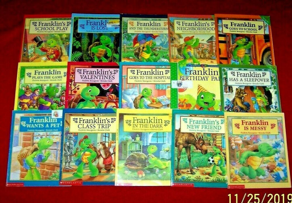 15 Franklin The Turtle Books Rl 2 Guided Reading K Ages 3