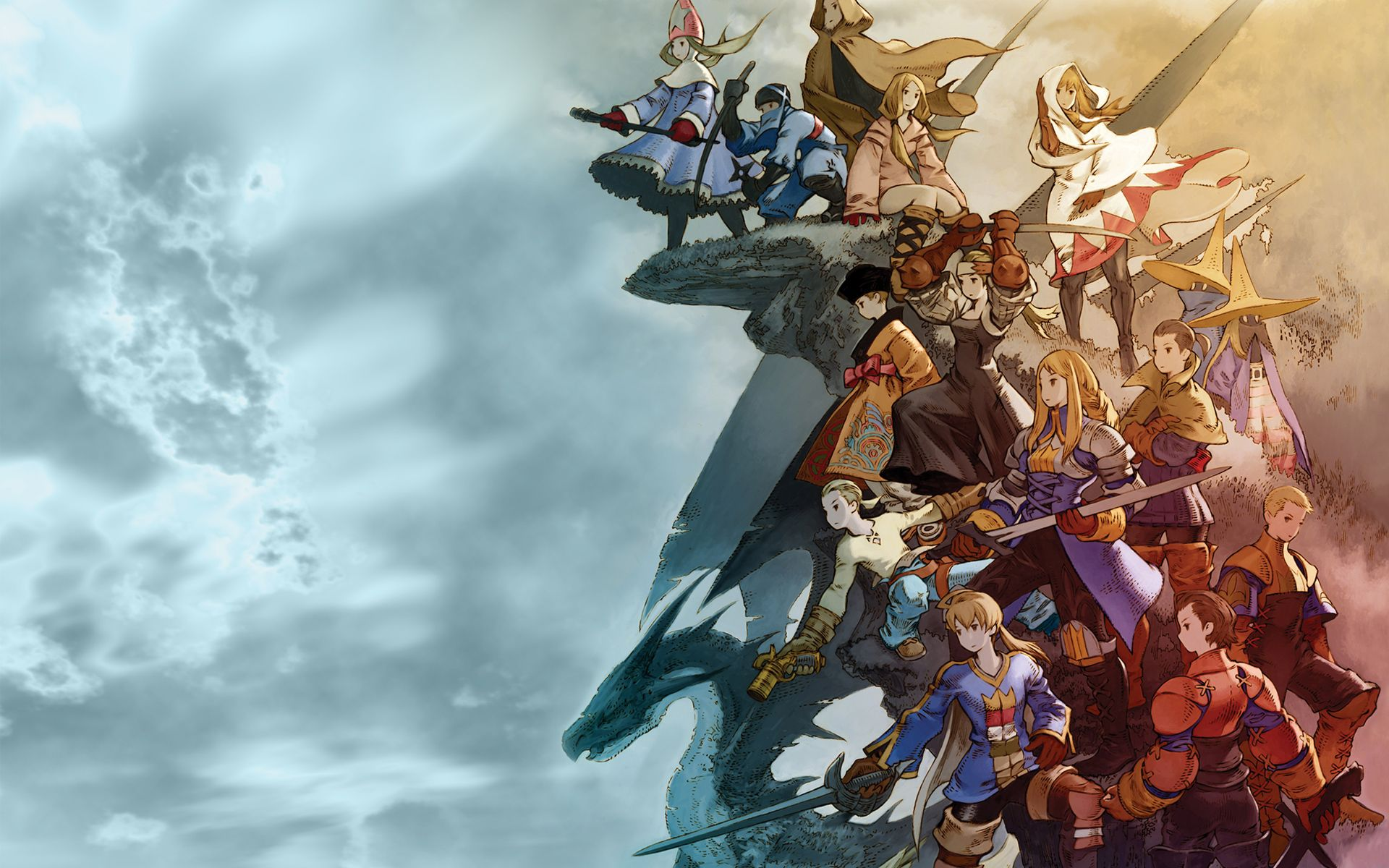 Final Fantasy Tactics Wallpaper With Images Final Fantasy