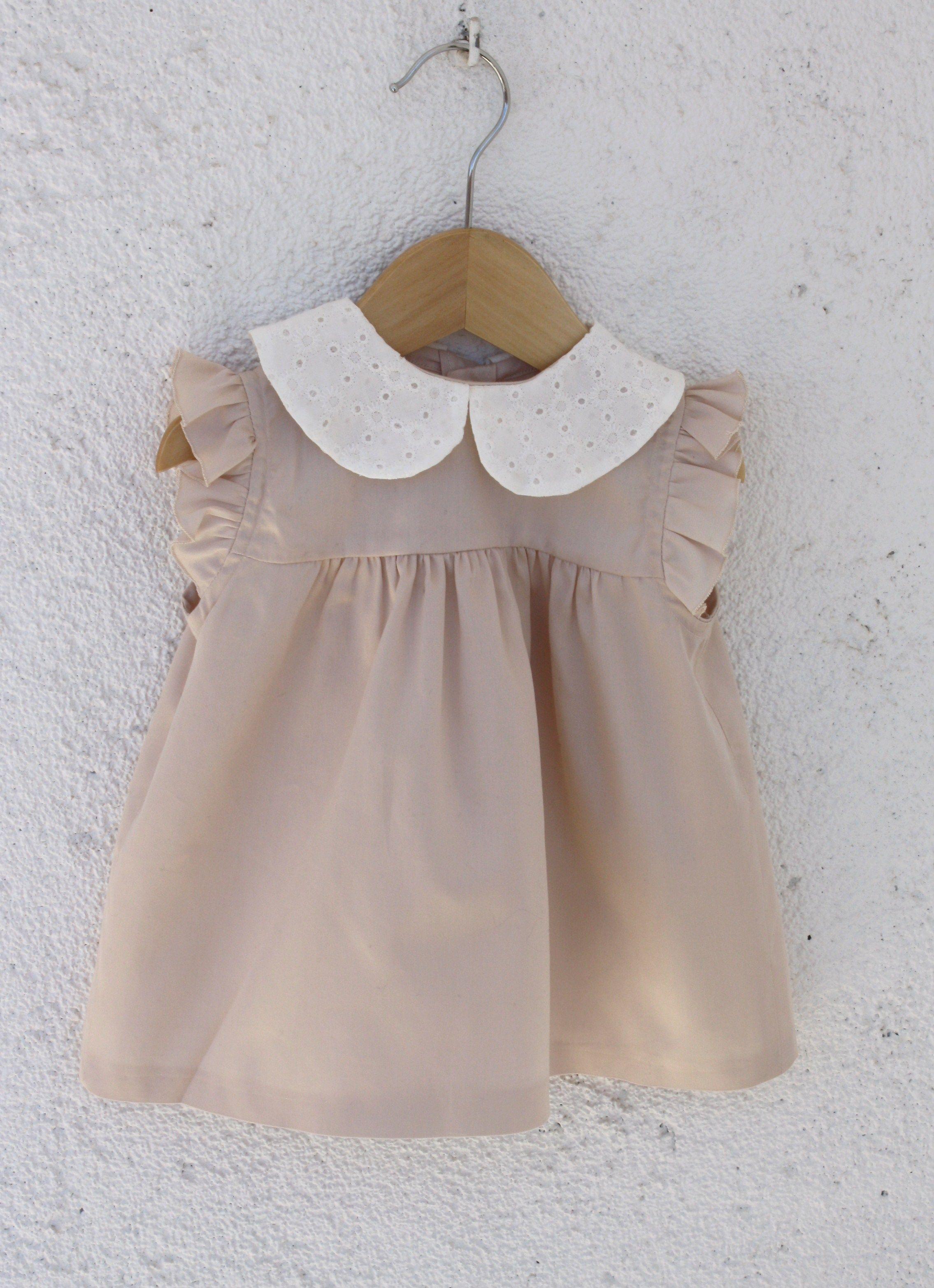 Vestido Bebe Menina Retro Vintage Vintage Baby Clothes