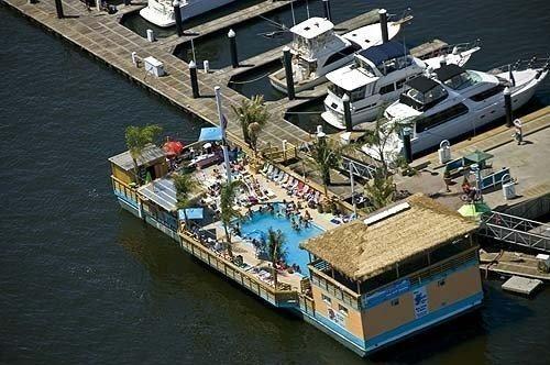 1987 Custom Tiki Barge W X2f Pool Power Boat For Sale Www Yachtworld Com Boats For Sale Power Boats For Sale Barge