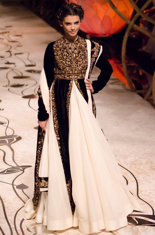 Fashion Indian designer rohit bal bridal wear
