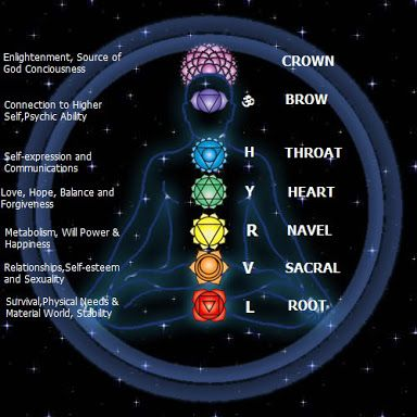 individual and cosmic chakra