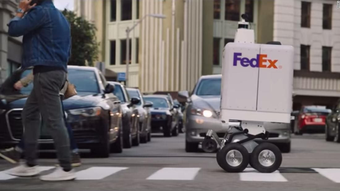 New York Warns Fedex To Keep Their Delivery Robots Off The City S