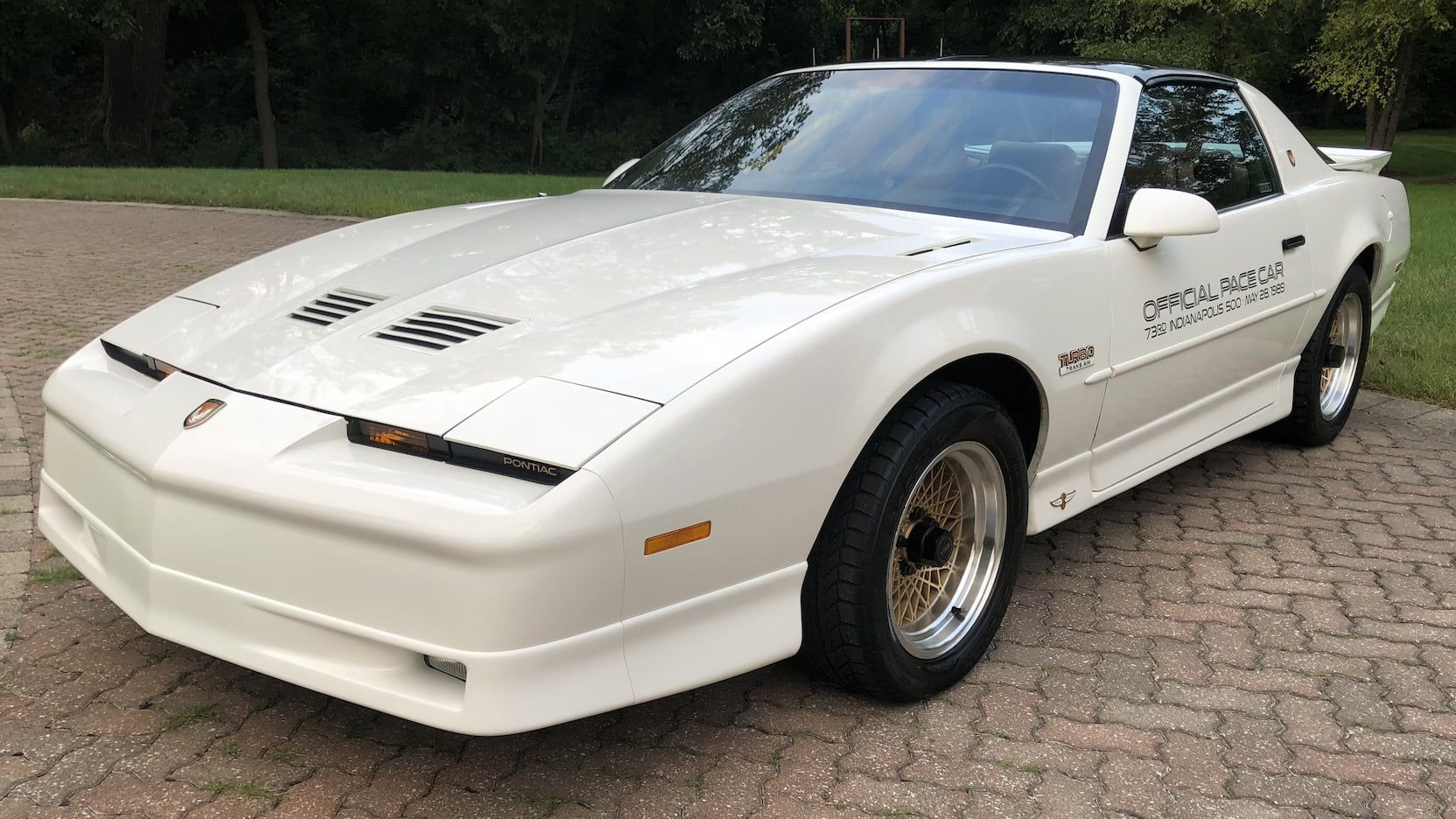 1989 Pontiac Turbo Trans Am 20th Anniversary Presented As Lot F85 At Houston Tx Pontiac Best Muscle Cars Pontiac Fiero