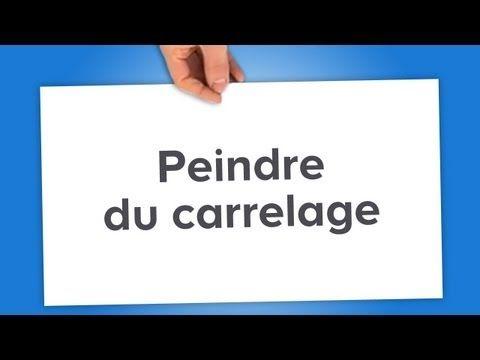 peindre du carrelage castorama youtube - Peinture Pour Carrelage Salle De Bain Castorama