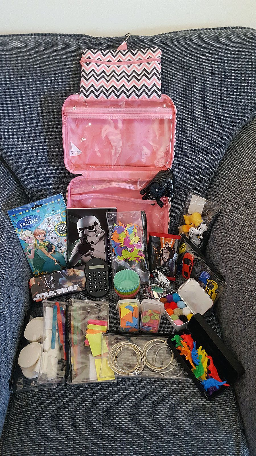 Airplane busy bag for toddlers twoyearold edition