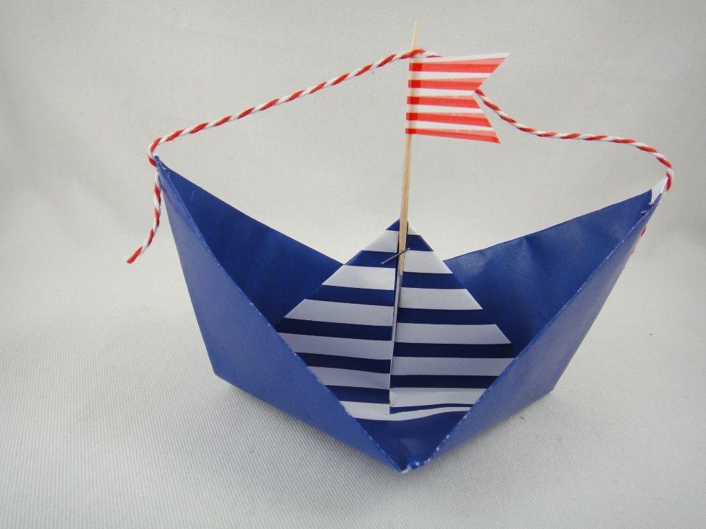 Maritime inspiration diy maritime tischdeko kommunion - Maritime deko basteln ...