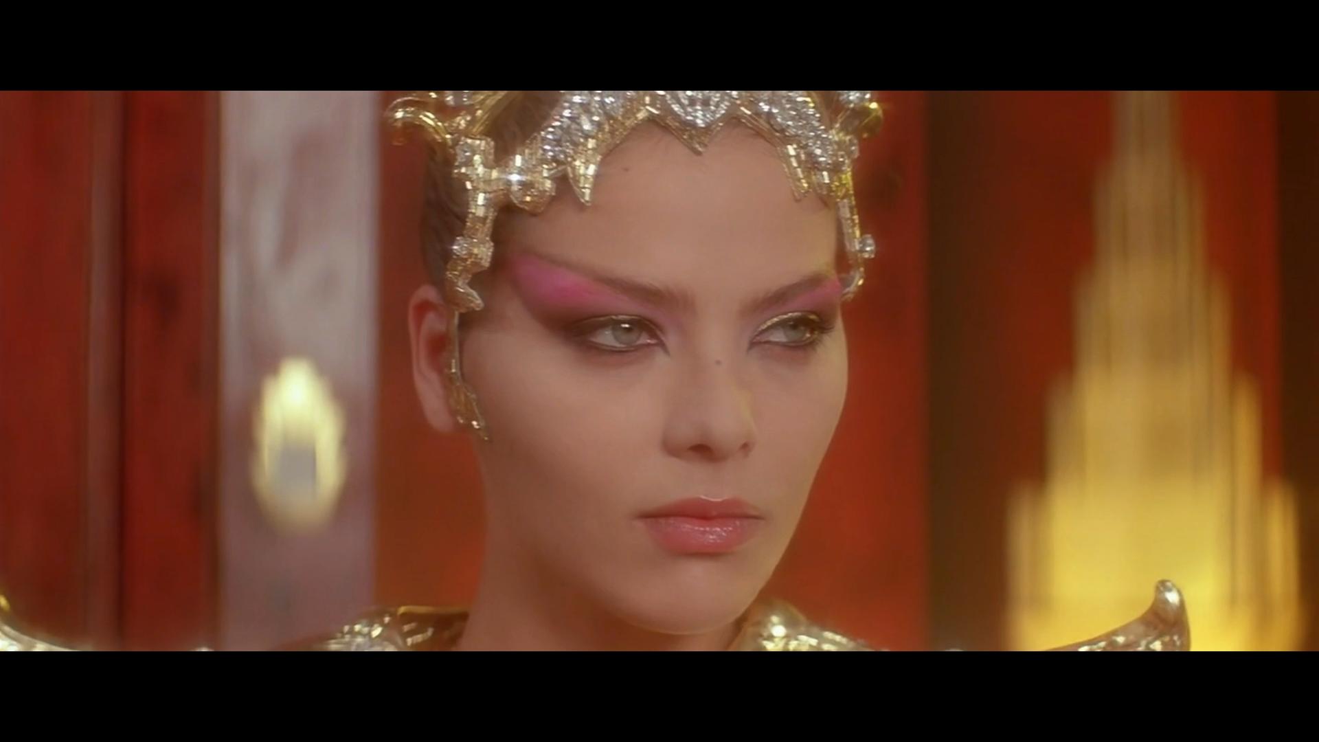 Ornella Muti as Princess Aura from 1980's Flash Gordon.