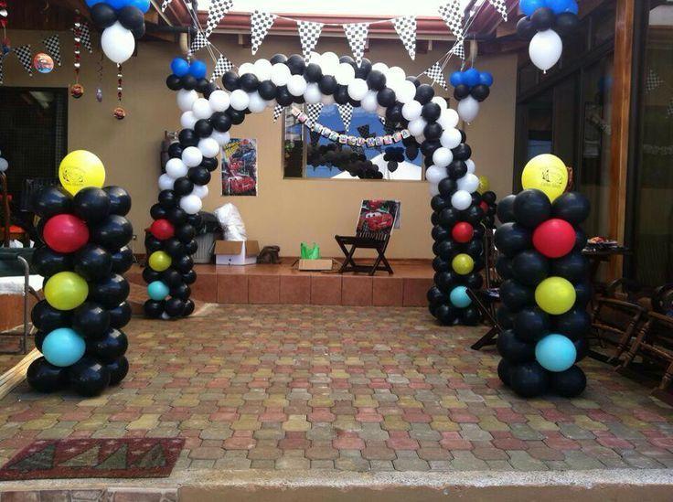 Decoraci n para fiesta bodas xv a os bautizo baby for Arreglos de globos para xv anos