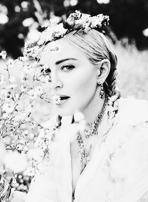 madonna madness madonna for vogue italia photographed by mert and