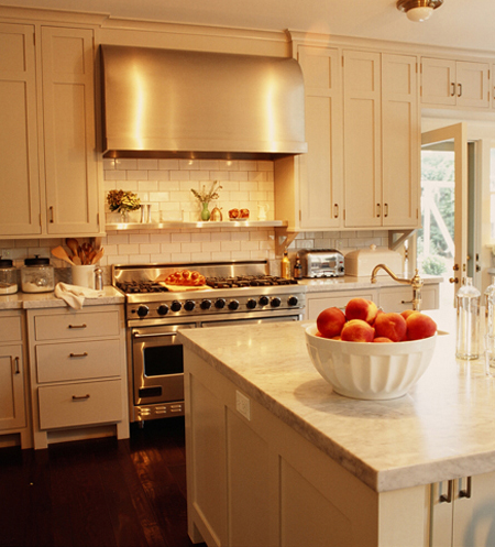 Kitchens Ivory Cream Kitchen Cabinets White Carrara Marble
