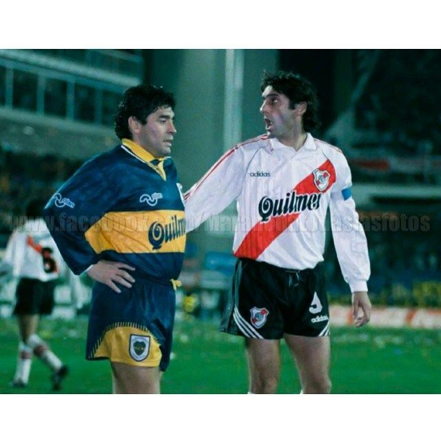 Diego y Enzo... Cuando aun eran superclasicos...