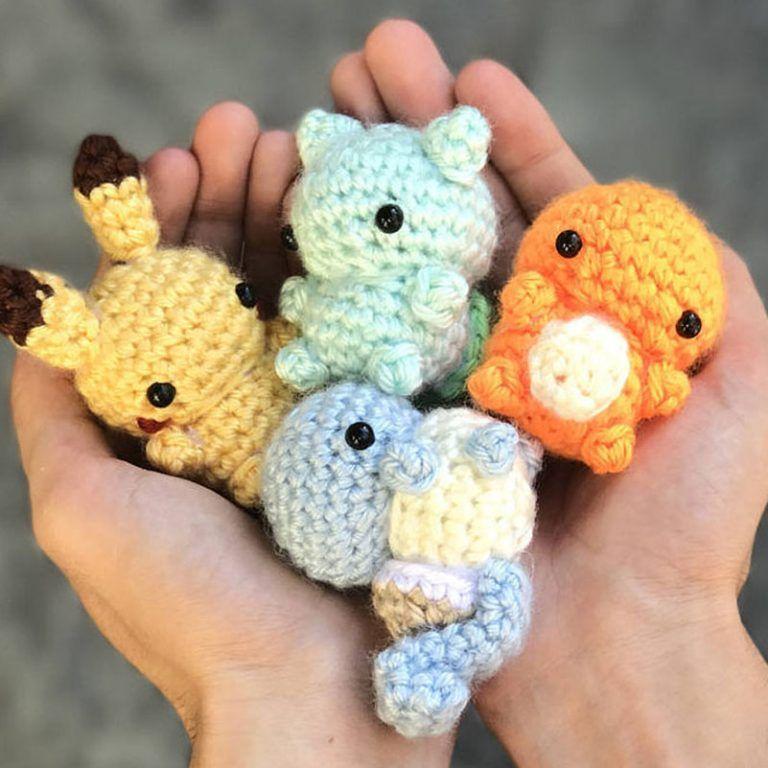 Amigurumi Pikachu de Crochê – EuroRoma | 768x768