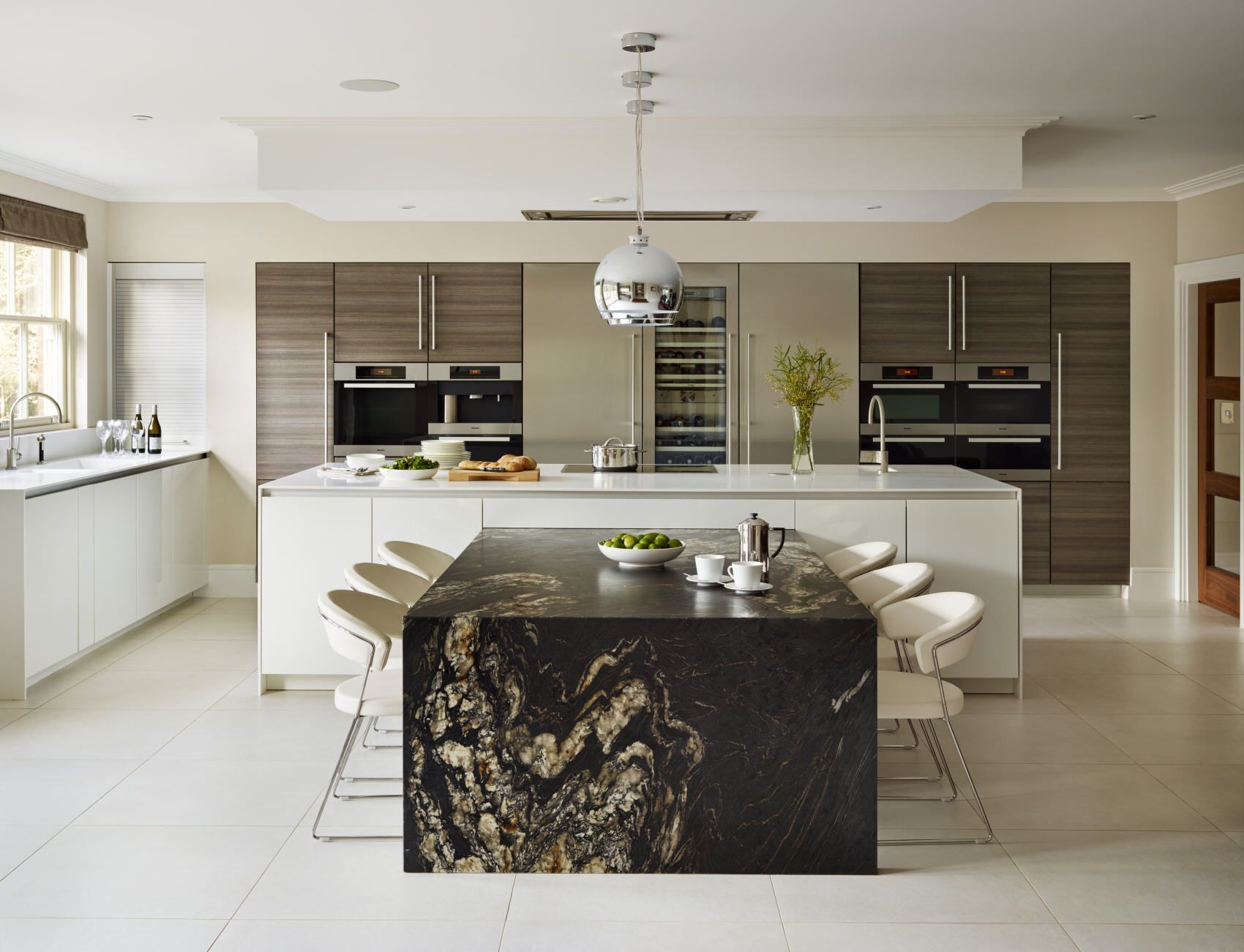 Luxury Designer Kitchens  Nicholas Anthony Mamamader2 I Pulled Impressive Designer Kitchen Inspiration