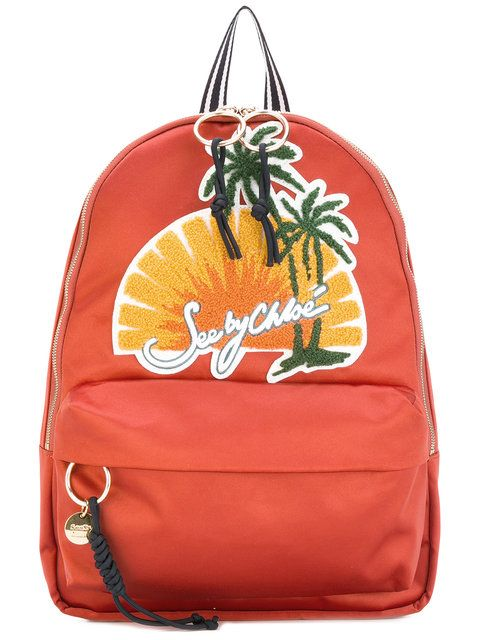 SEE BY CHLOÉ   Sunset Scene Backpack