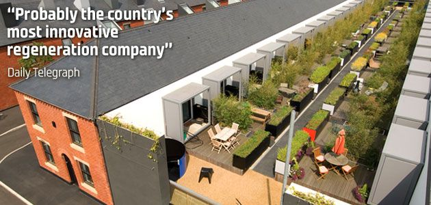 """""""Probably the country's most innovative regeneration company"""" Daily Telegraph"""