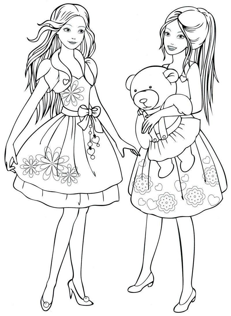 Раскраска для девочек 10 12 лет | Раскраски, Рисунки ...