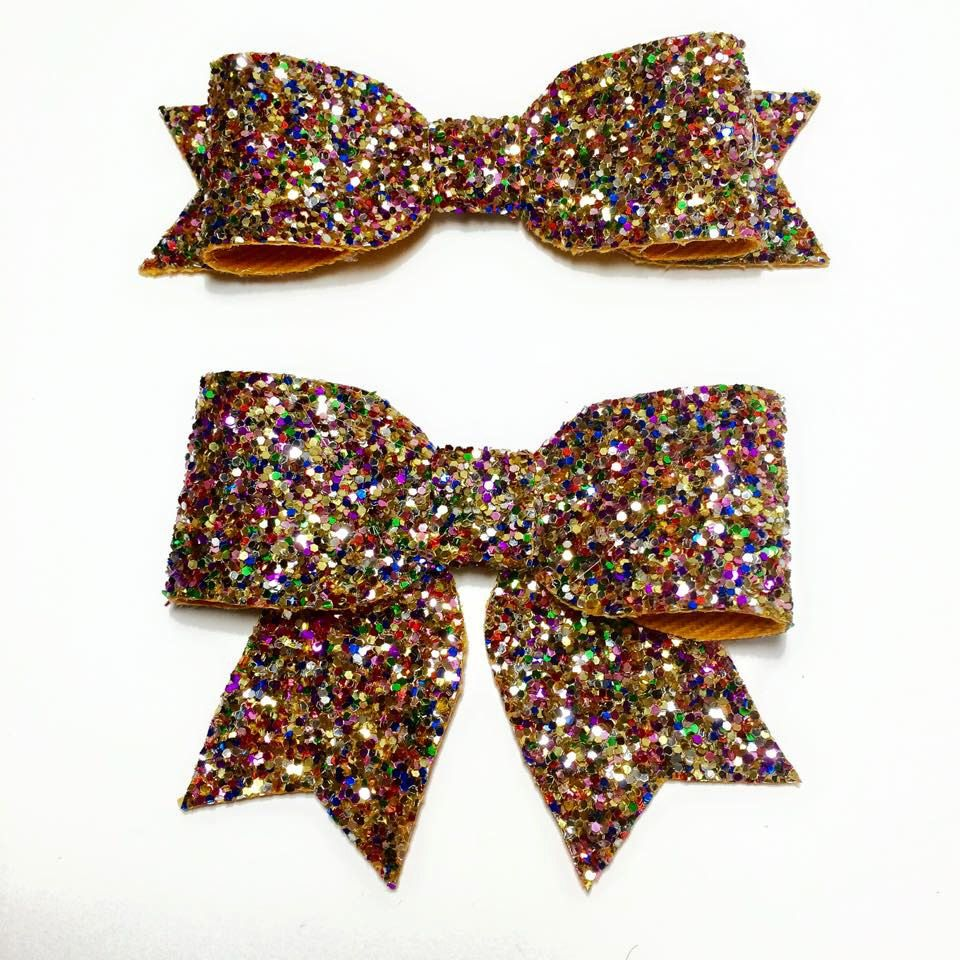 All sorts Mix/ Glitter Hair Bow / Sparkling Hair Clip / Hair Clip /Girl baby by teaandtoastx on Etsy https://www.etsy.com/listing/217772128/all-sorts-mix-glitter-hair-bow-sparkling