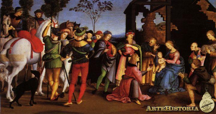 RAFAEL DE SANZIO: 1501-3 (Pala del Altar Oddi)