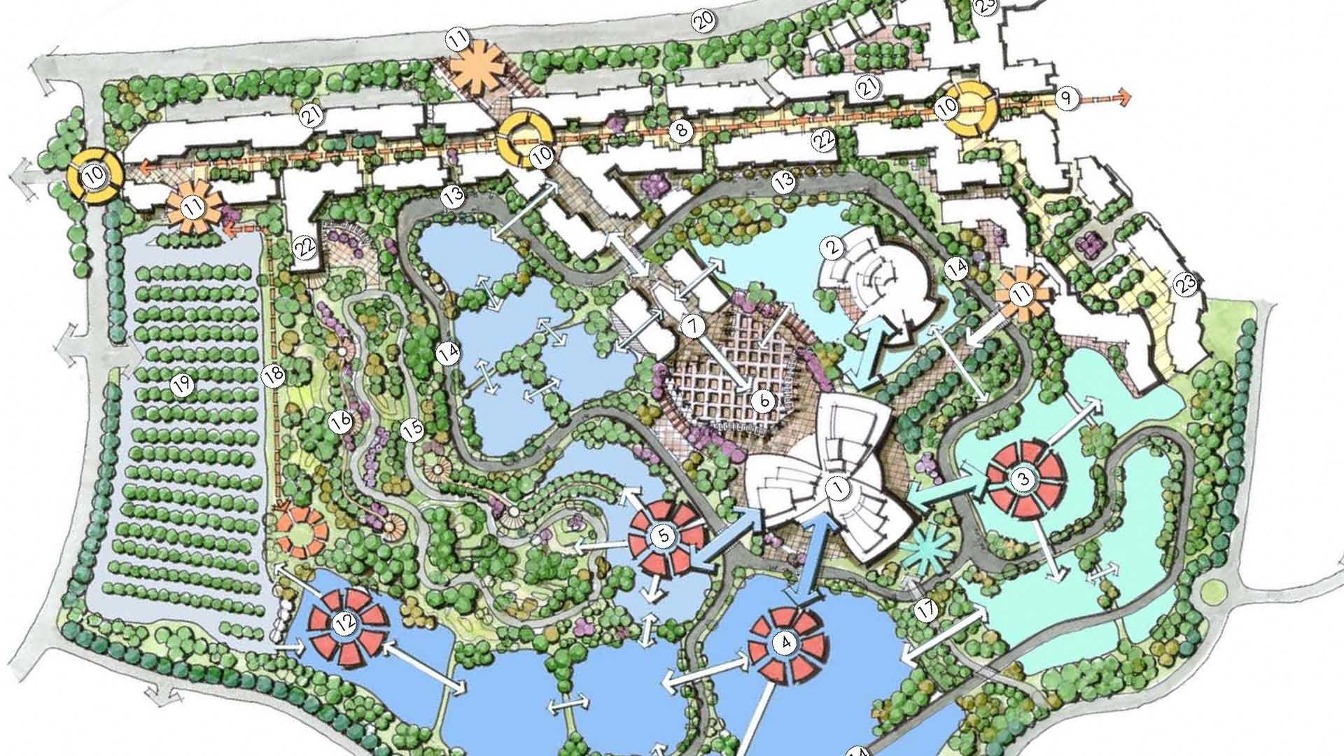 Water Theme Park Plan Google Search Surf Zoo Creatures