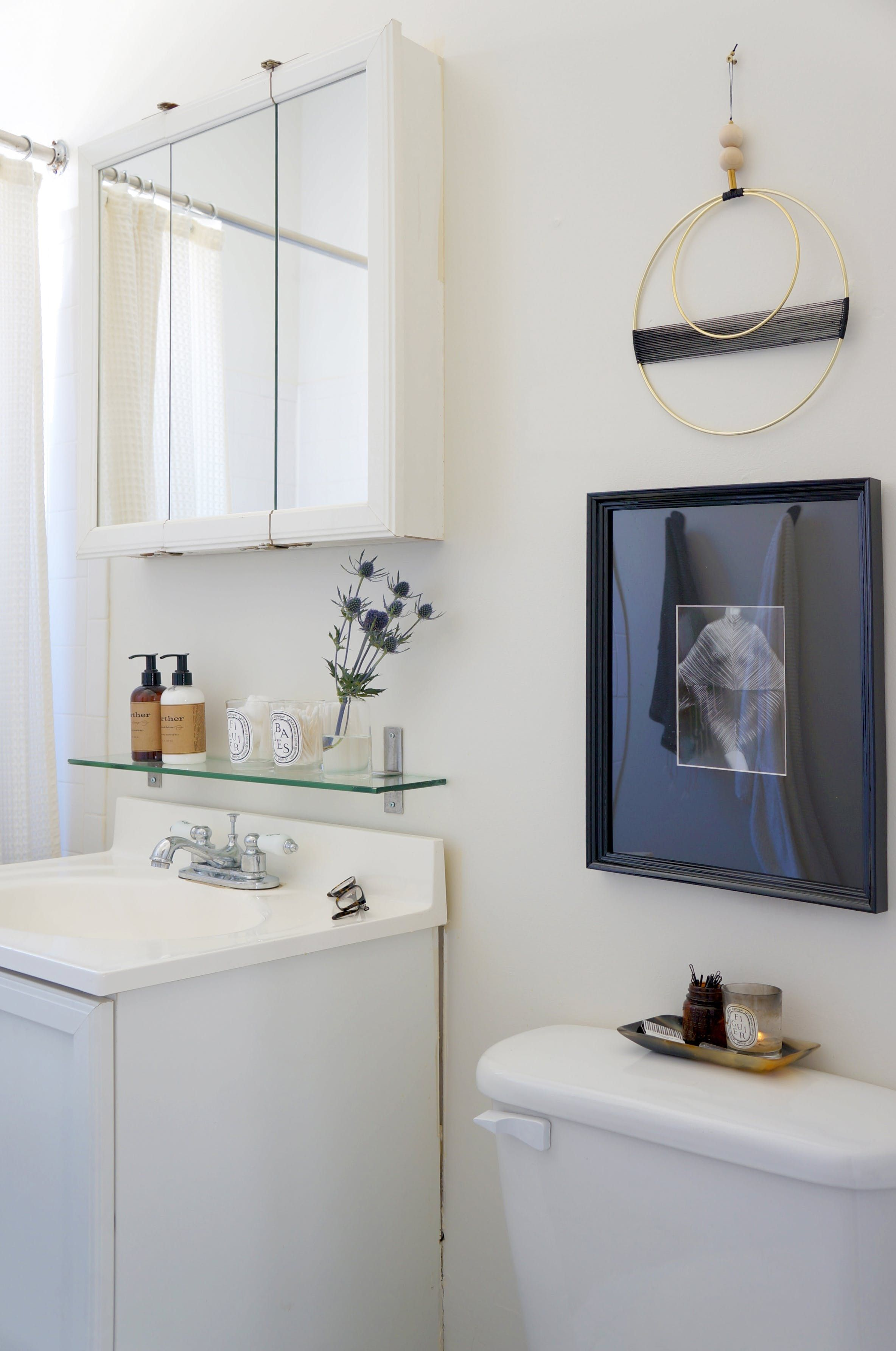 6 Places to Add Shelving (& Up Storage) in a Small Bathroom ...
