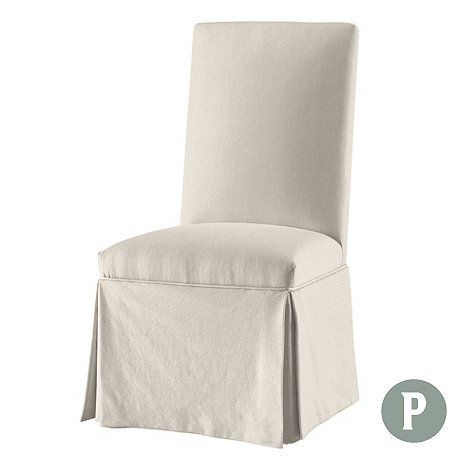 Parsons Chair Slipcover In Stocked Fabrics From Ballard Designs
