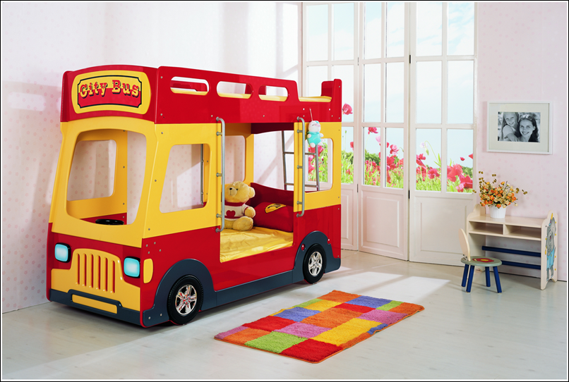 Bus And Truck Beds That Will Take Your Youngsters To A Journey Of