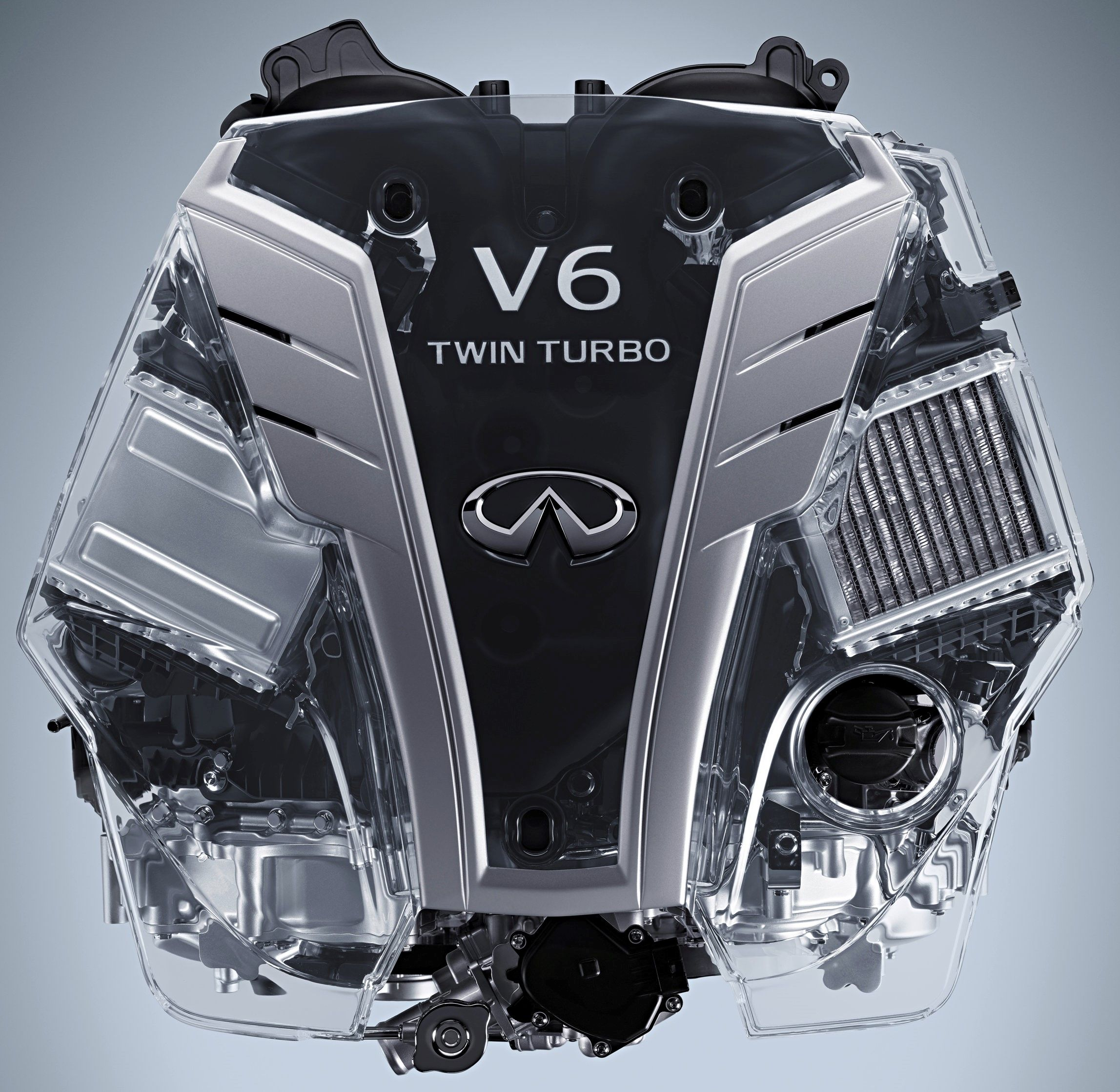 2017 Infiniti VR30DDTT 3.0-liter V6 Twin-turbo Engine