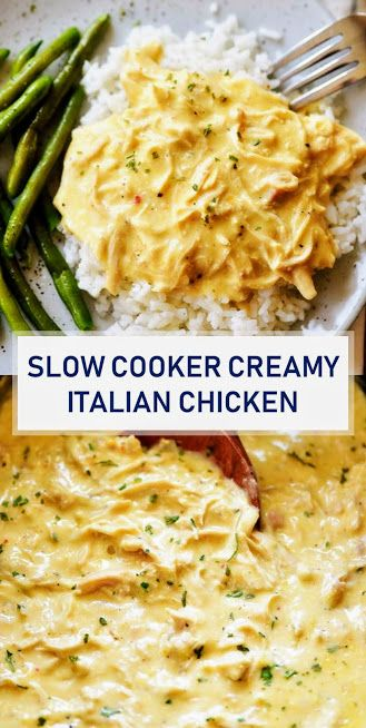 Photo of ★★★★★ 1468 Reviews: The BEST #Recipes >> #Slow Cooker #Creamy Italian #Chicken