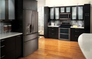 LG's Black Stainless Steel Series