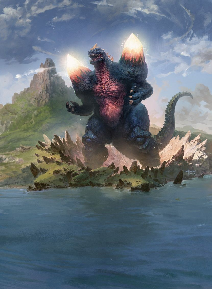 Kaiju news outlet on twitter in 2020 godzilla all