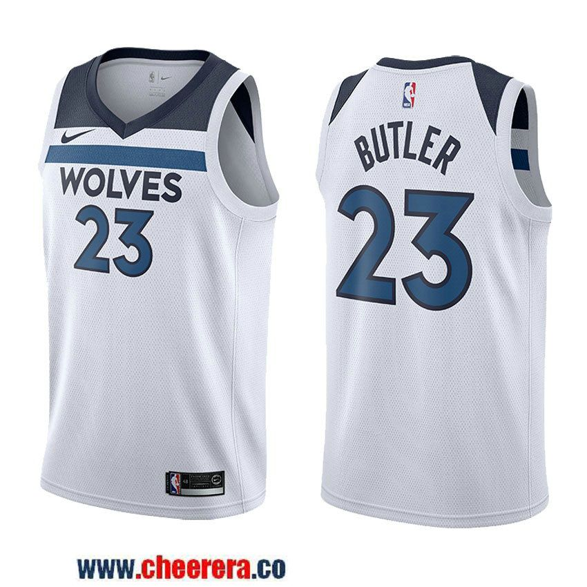 Men s Nike NBA Minnesota Timberwolves  23 Jimmy Butler Jersey 2017 18 New  Season Wine White Jersey 3f4081164