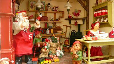L Atelier Du Pere Noel Les Carnets de l'Atelier Blondie: L'Atelier du Père Noël   Santa's