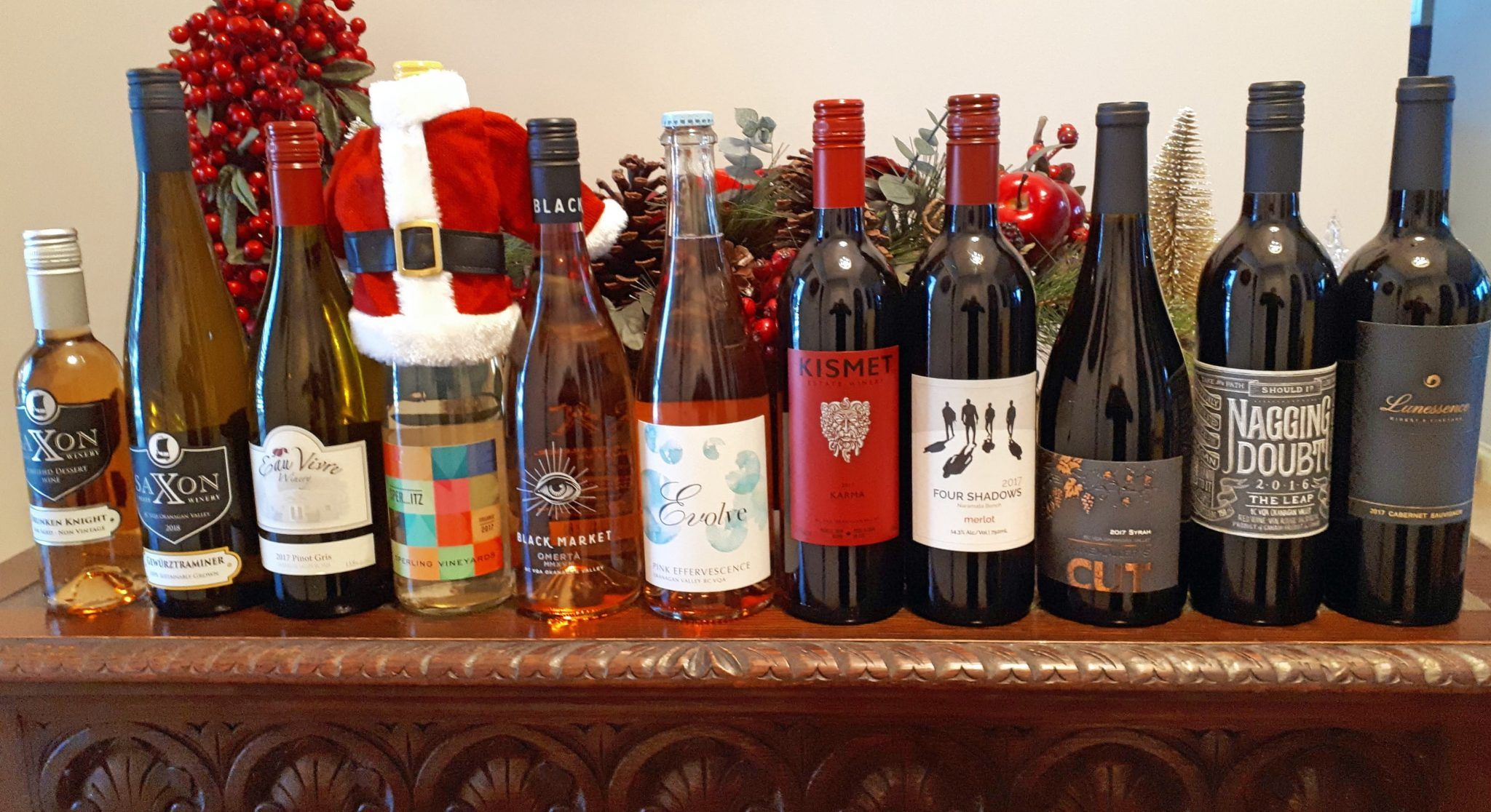 Bc Wines For The Holidays Wines Favorite Wine Pinot Gris