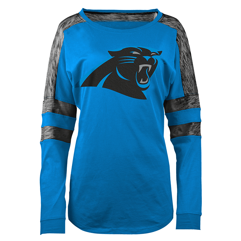 bf64b464 Women's Baby Jersey L/S Shirt | Carolina Panthers Official Shop ...