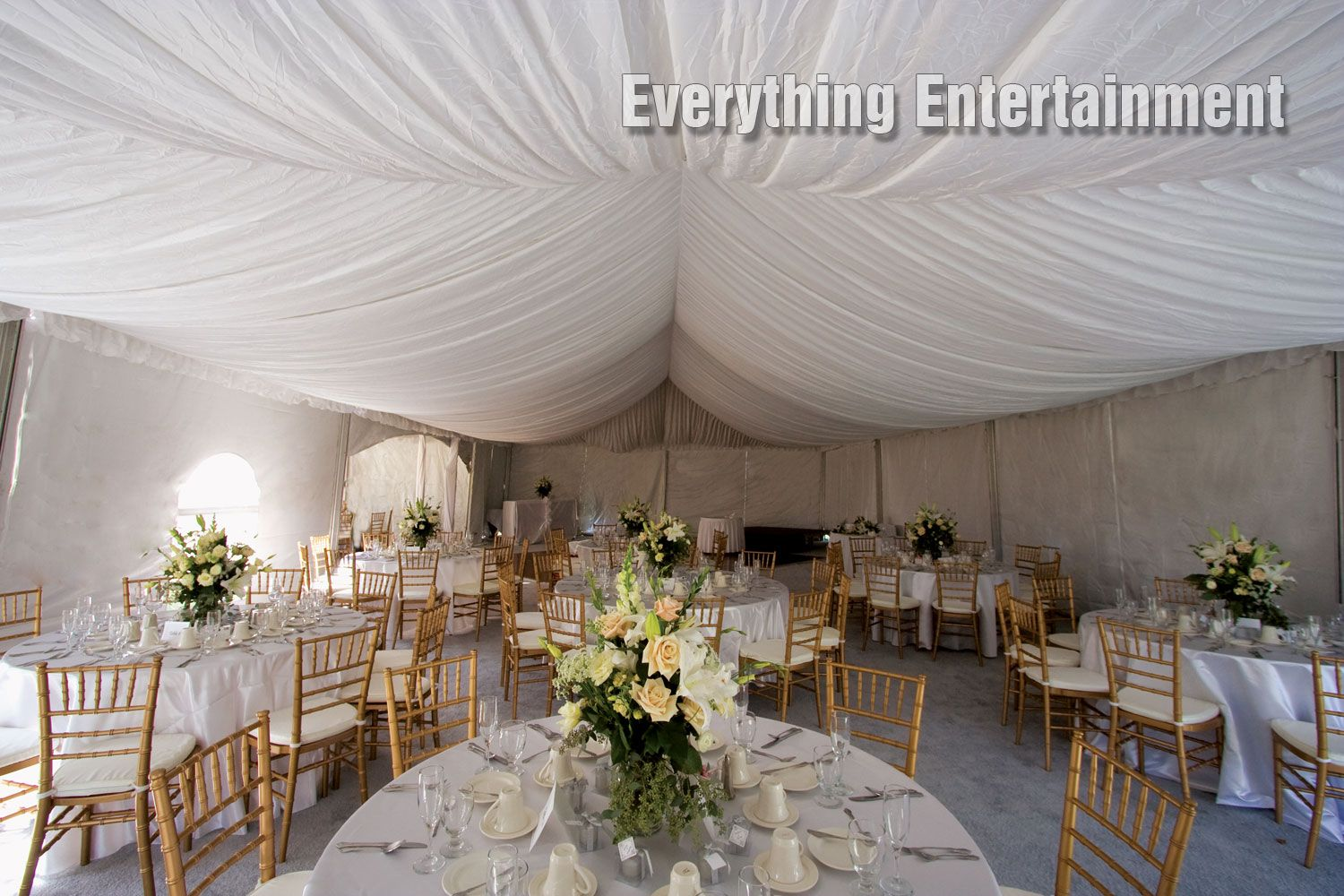 30x50 Frame Tent With Tent Liner And Carpeted Floor Entertaining Decor Tent Wedding Rentals