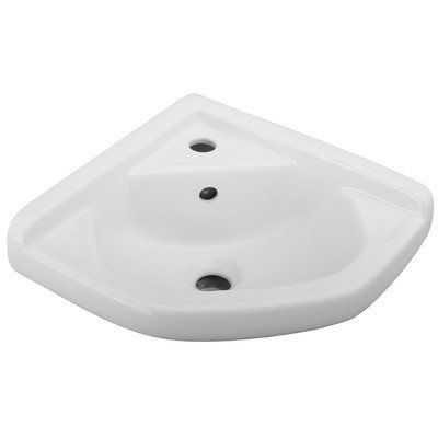 Barclay 4 750wh 14 Inch Corner Wall Hung Basin White Be Sure