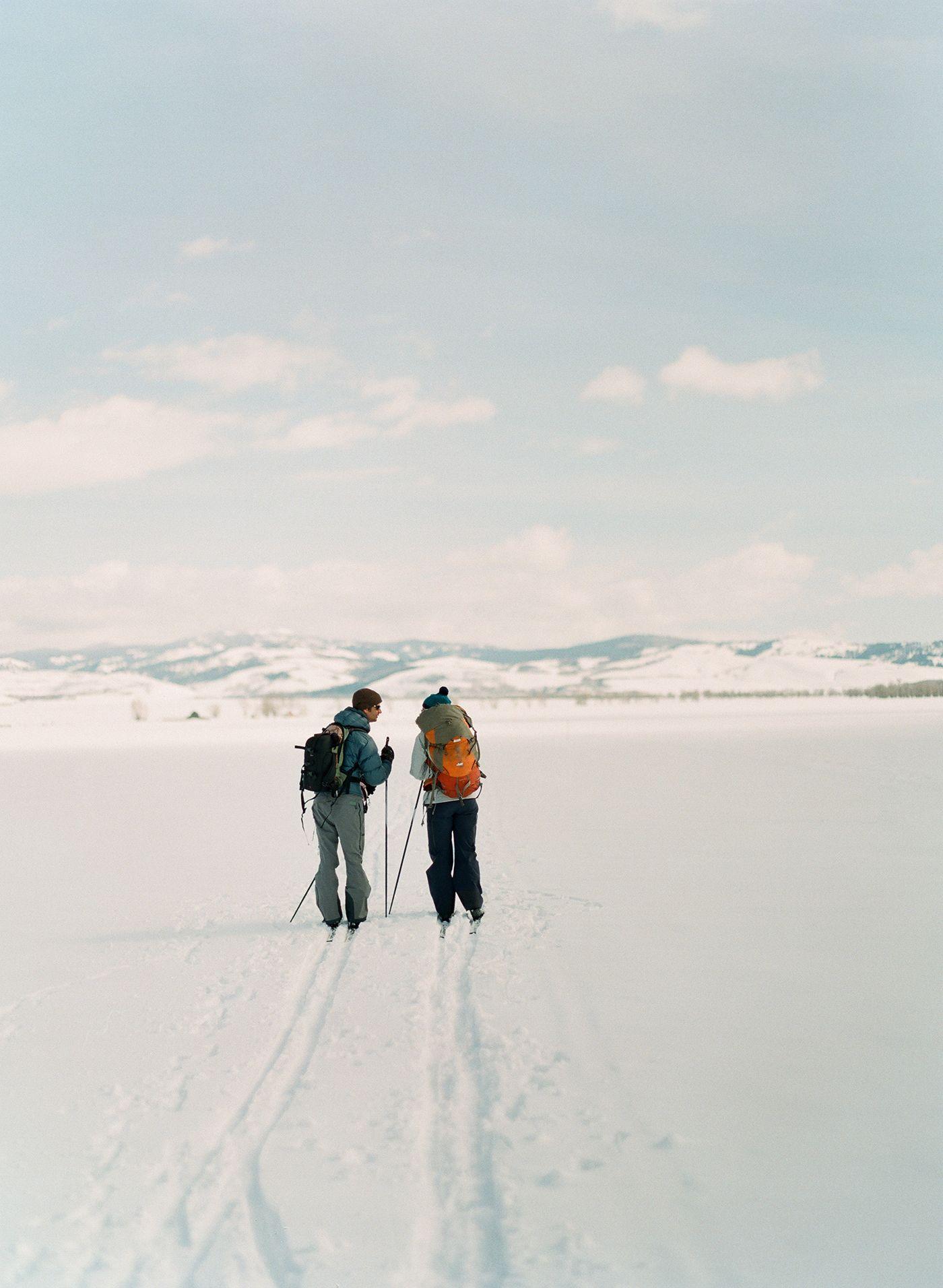 Jackson Hole, WY. Cross country skiing. Teton Mountains. http://lesleemitchell.com/blog/2011/09/26/jackson-hole-wy-3/
