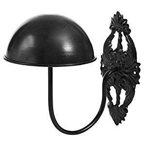 Amazon Com Decorative Vintage Style Black Metal Wall Mounted Hat Display I Soooooo Need This Wall Mounted Hat Rack Wall Hats Wall Hat Racks