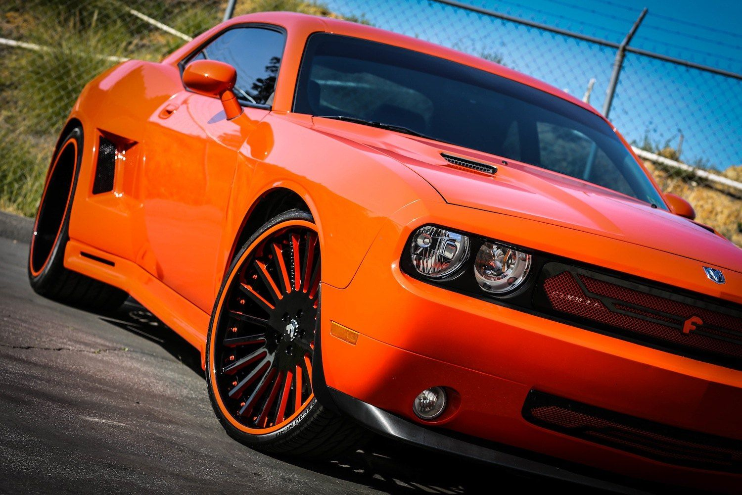 Forgiato Dodge Challenger With A Widebody Kit In 2020 Dodge Challenger Challenger Wheels Challenger