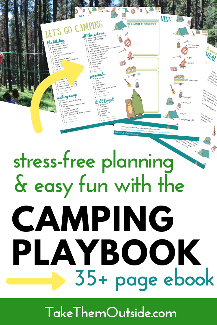Photo of Family Camping Playbook ⋆ Take Them Outside