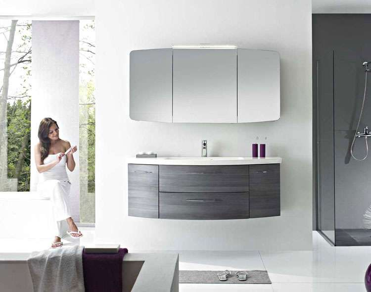Pelipal Cassca 3 tlg Badmöbel Set   Waschtisch   Unterschrank - badezimmer spiegelschrank beleuchtung