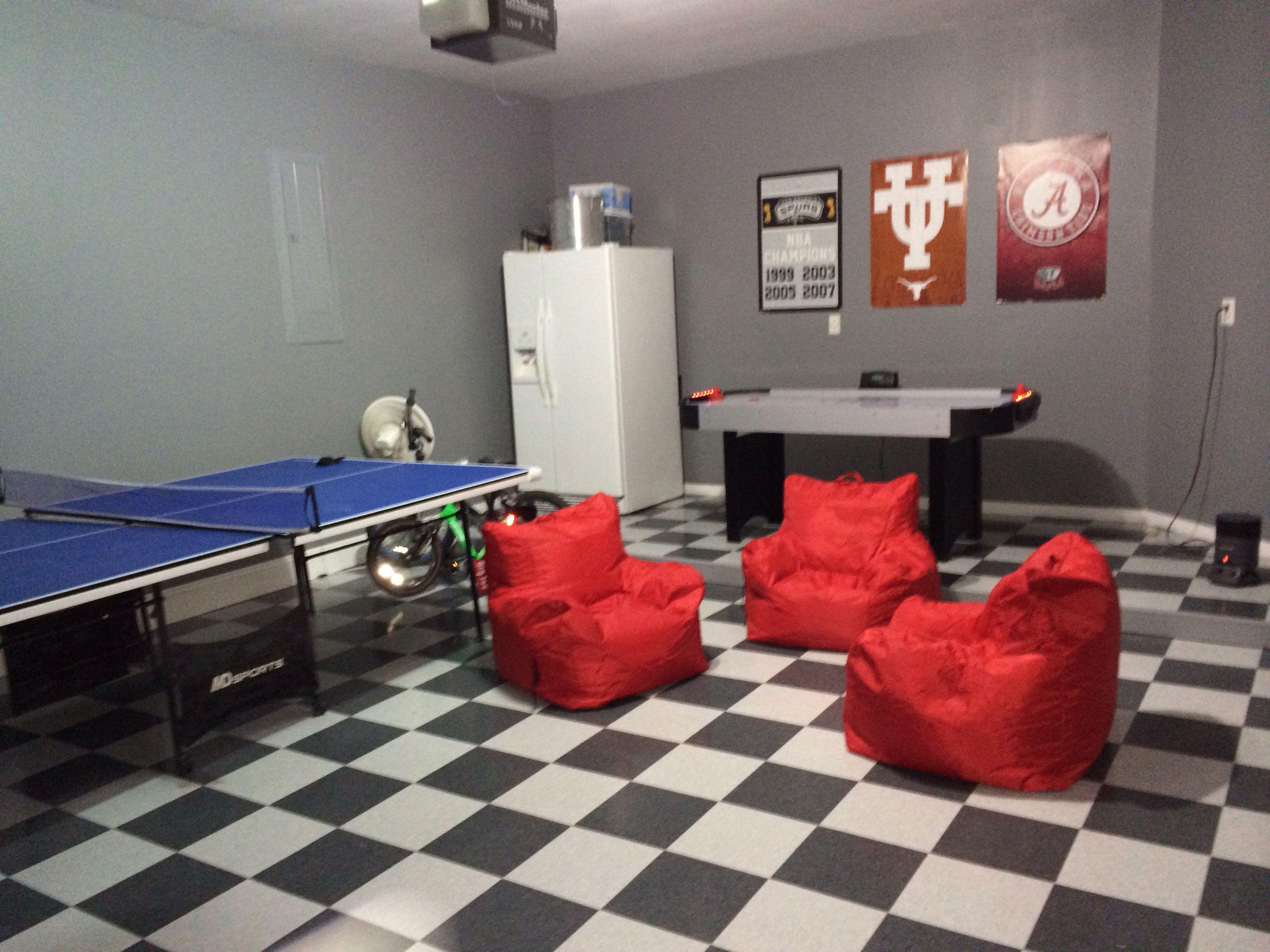 Garage Game Room Making Progress