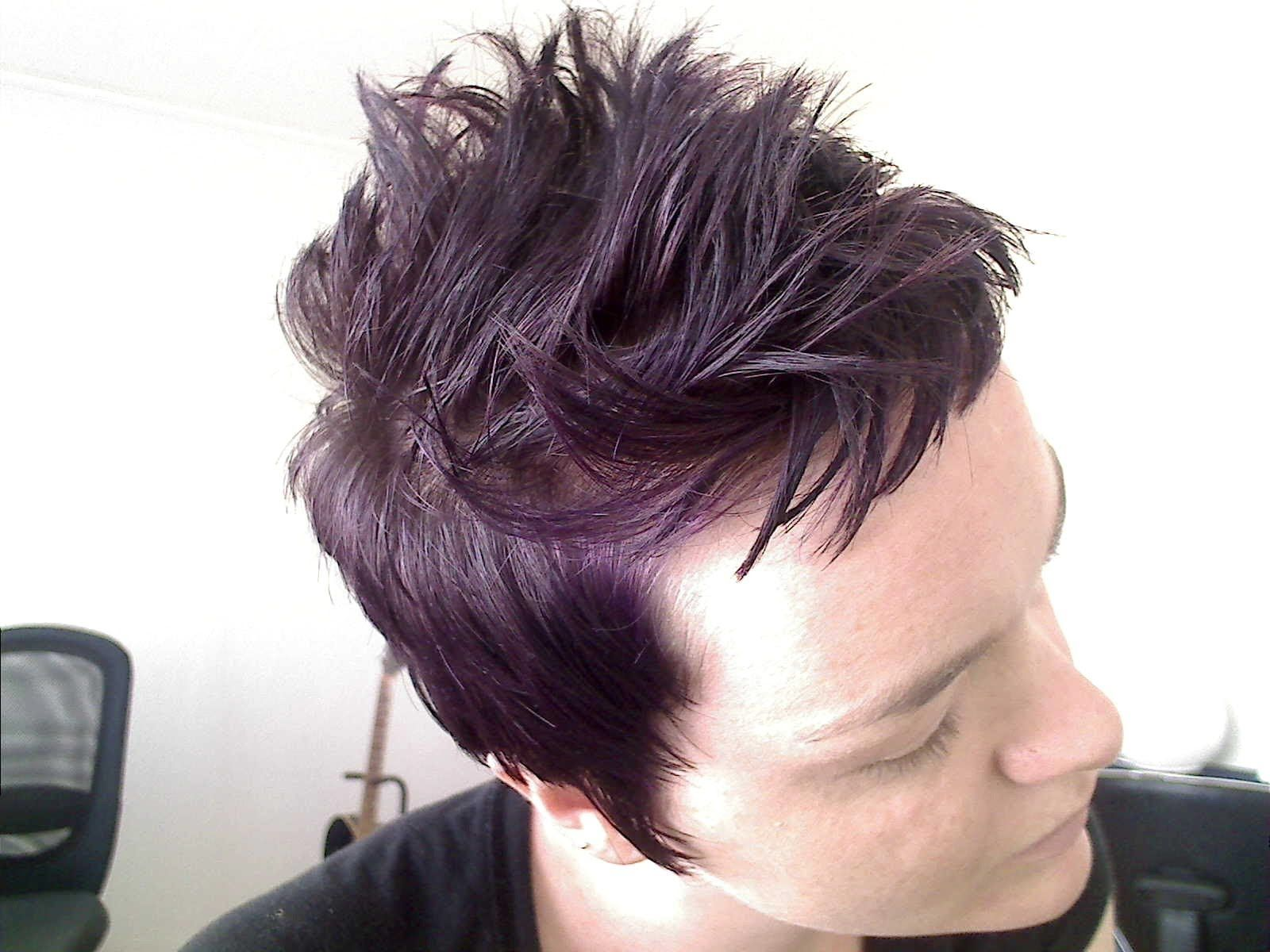 Manic Panic Ultra Violet Over Unbleached Hair Lilac Hair Color Pretty Hairstyles Hair Beauty