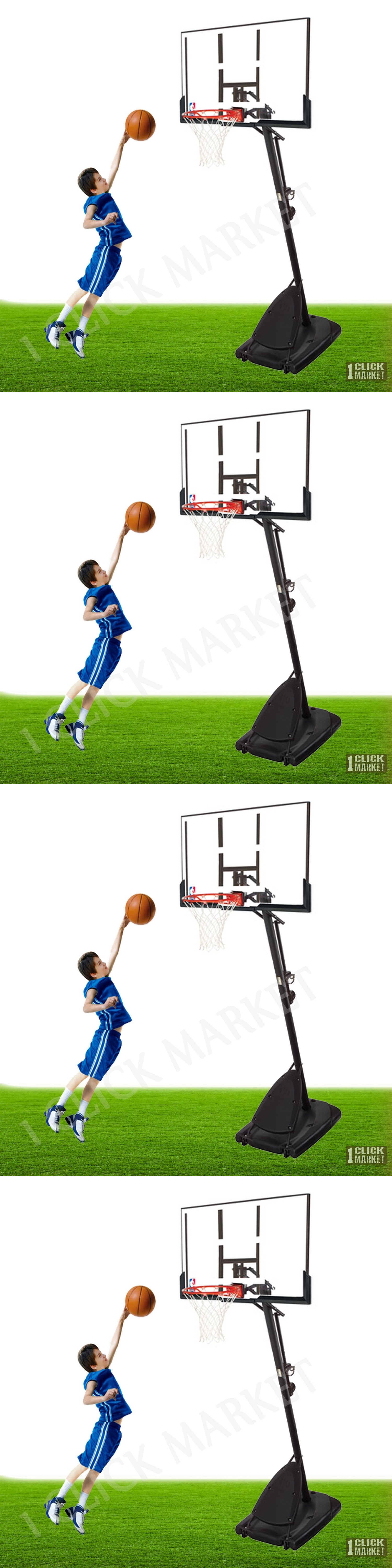backboard systems 21196 54 portable basketball hoop outdoor