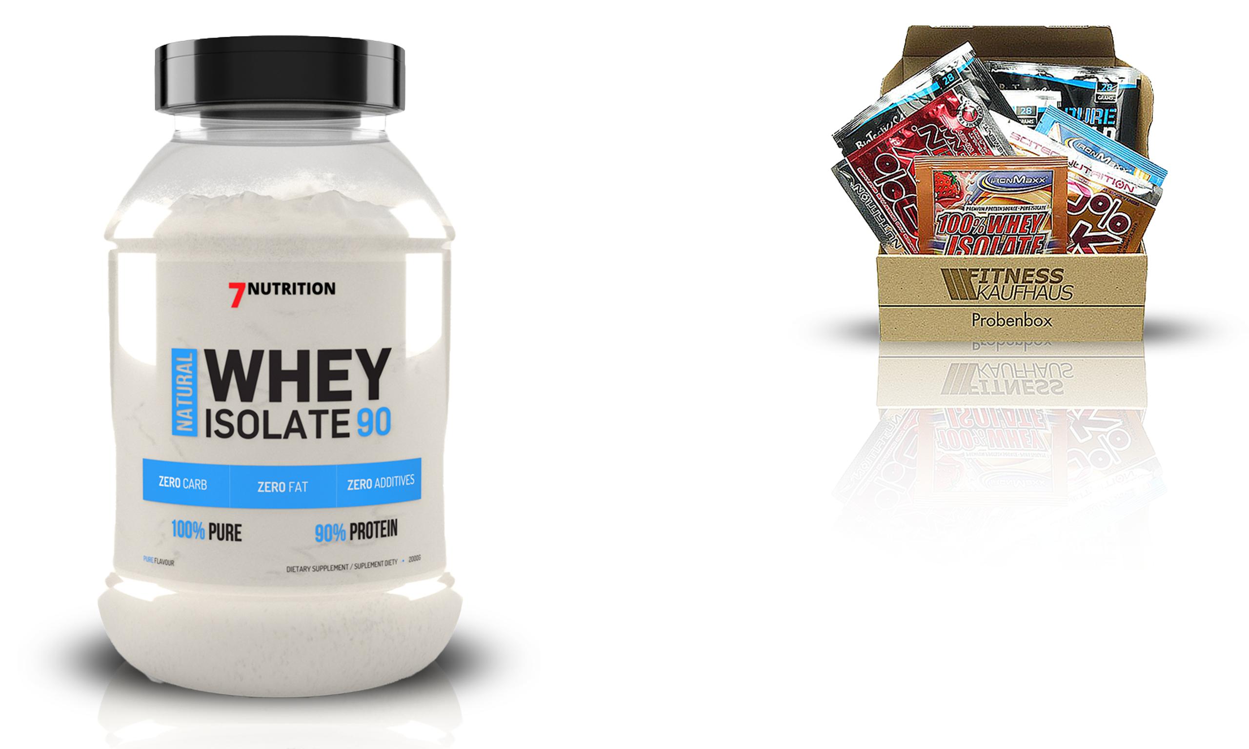 7 Nutrition Natural Whey Isolate Probka Wpi Diety Trening I Naturalny