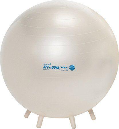 magasin discount la clientèle d'abord sélectionner pour authentique Gymnic Sit'n'Gym Perla 75 Ballon de gymnastique Perle ...